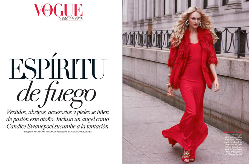 candice mariano vivanco1 Candice Swanepoel Stuns for Vogue Mexico Shoot by Mariano Vivanco