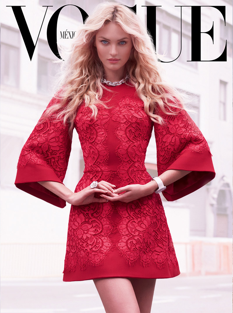 candice mariano vivanco10 Candice Swanepoel Stuns for Vogue Mexico Shoot by Mariano Vivanco