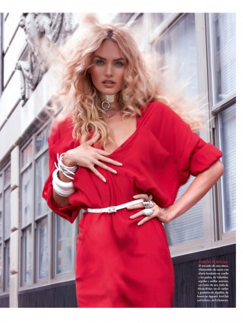 Candice Swanepoel Stuns for Vogue Mexico Shoot by Mariano Vivanco