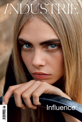 Cara Delevingne Graces Cover of Industrie #6