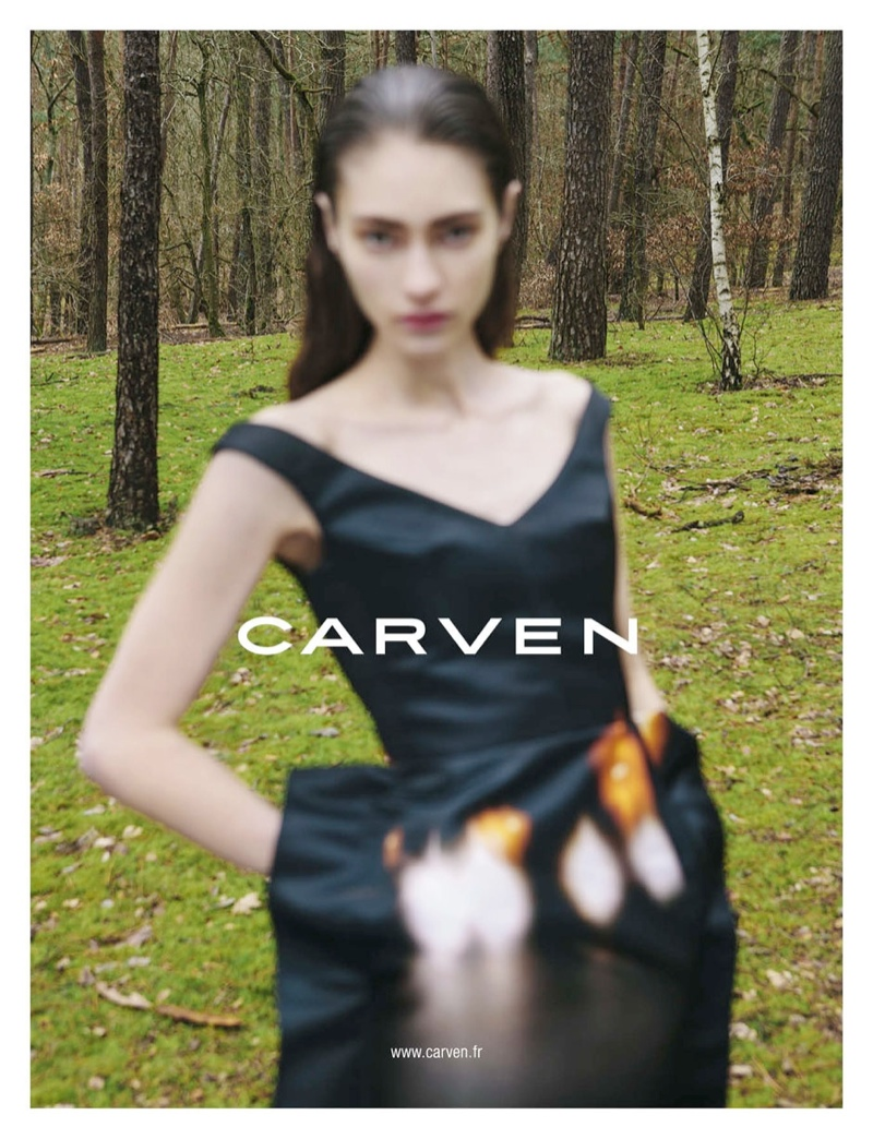 carven fall ads2 Carven Gets Out of Focus for Fall 2013 Campaign by Viviane Sassen