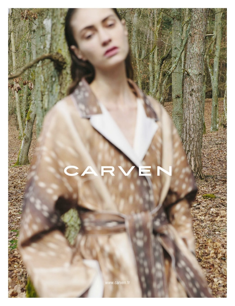 carven fall ads4 Carven Gets Out of Focus for Fall 2013 Campaign by Viviane Sassen