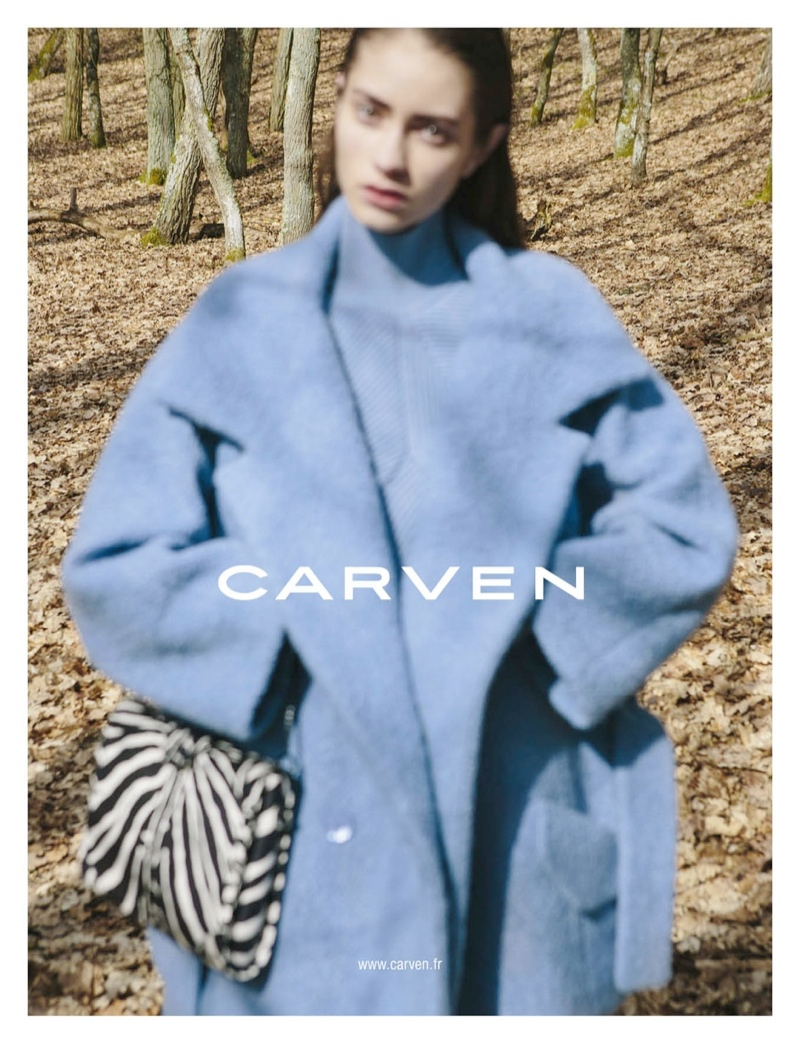 carven fall ads5 Carven Gets Out of Focus for Fall 2013 Campaign by Viviane Sassen