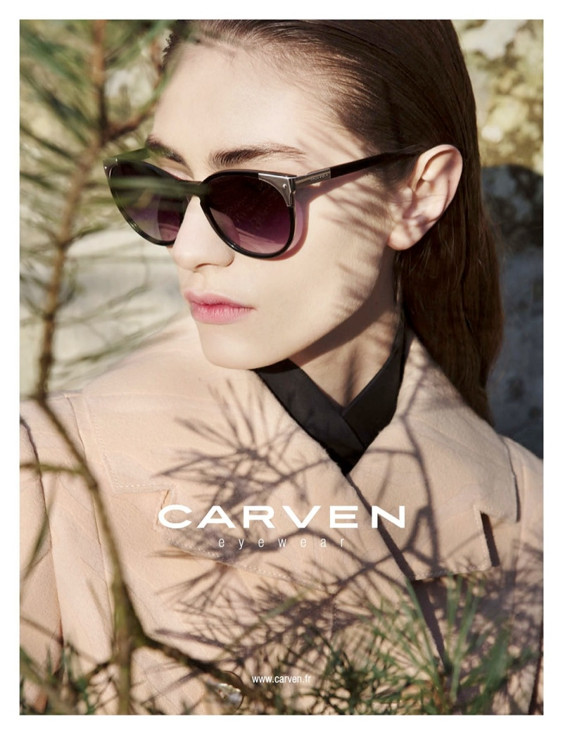 carven fall ads6 Carven Gets Out of Focus for Fall 2013 Campaign by Viviane Sassen