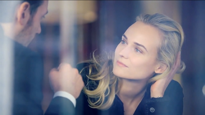 chanel screen Watch Diane Kruger Star in Chanels Skincare Film