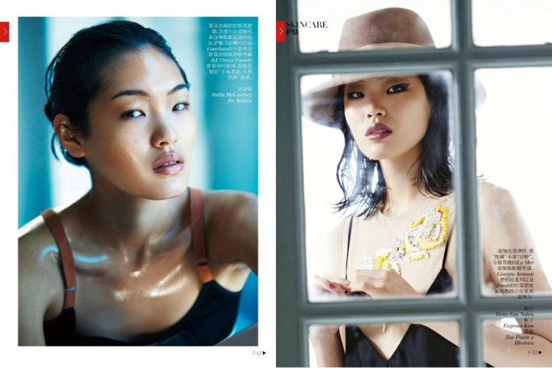 chris craymer4 800x533 Chiharu Okunugi Poses for Chris Craymer in Vogue China Shoot