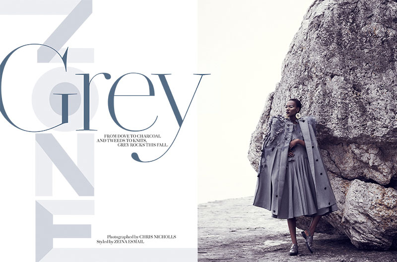 chris nicholls 2023 Herieth Paul Gets Grey for Fashion September 2013 by Chris Nicholls