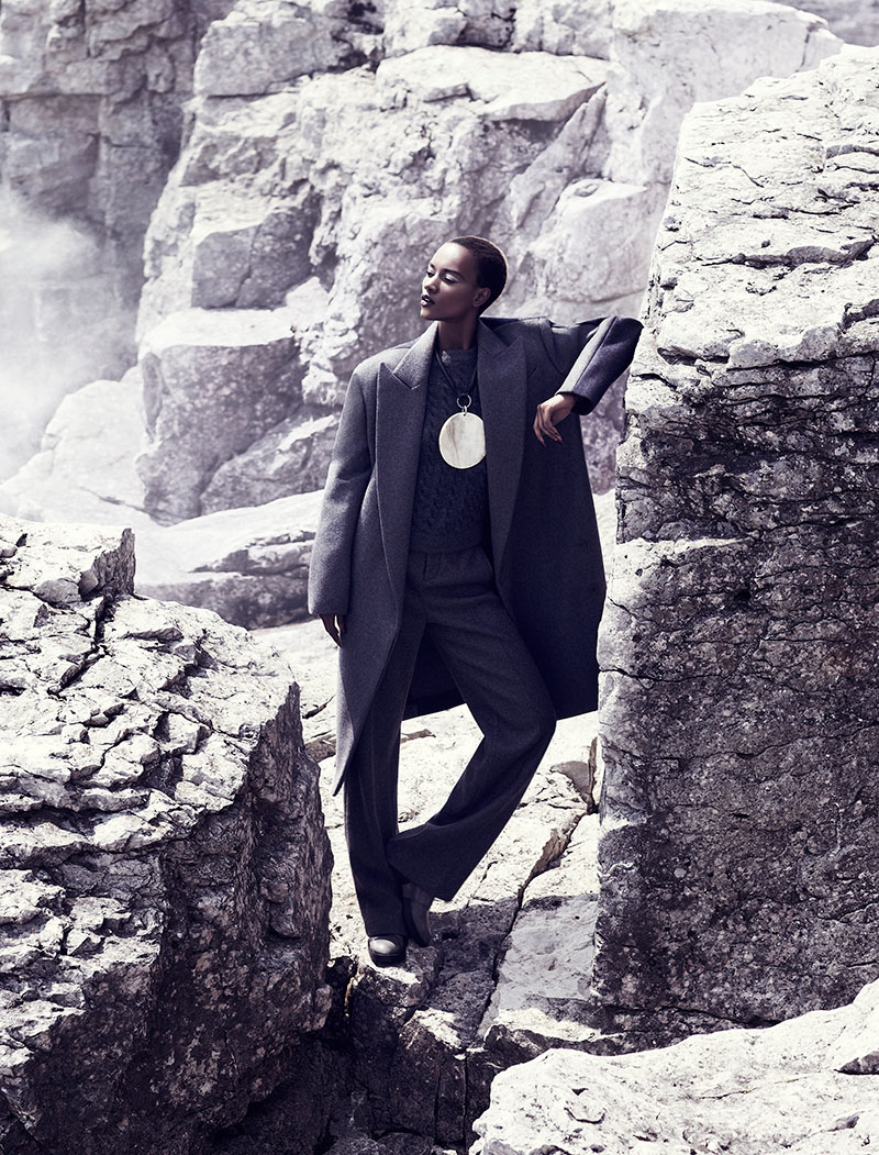 chris nicholls 2026 Herieth Paul Gets Grey for Fashion September 2013 by Chris Nicholls