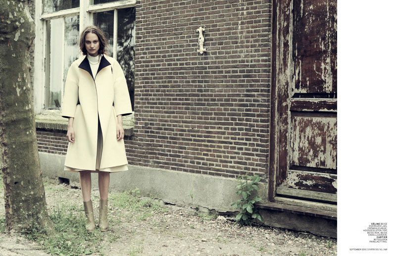 church style6 Queeny van der Zande Heads to the Country for LOfficiel Netherlands