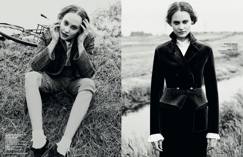 church style8 Queeny van der Zande Heads to the Country for LOfficiel Netherlands