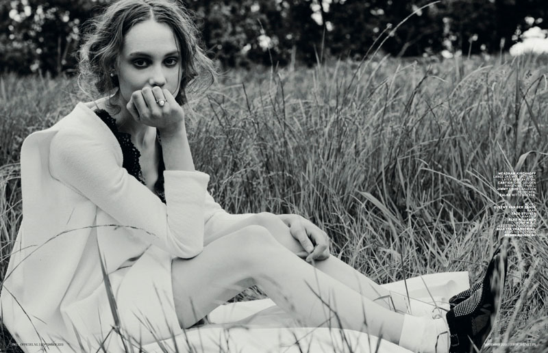 Queeny van der Zande Heads to the Country for L'Officiel Netherlands