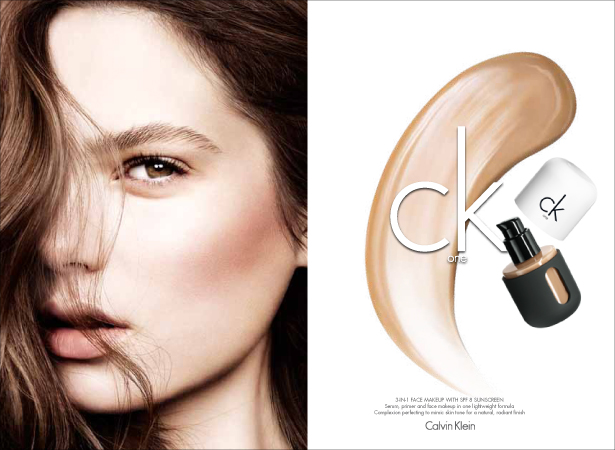 ck one cosmetics fall5 Fei Fei Sun, Caroline Brasch Nielsen & Tilda Lindstam Star in ck One Cosmetics Fall 2013 Campaign