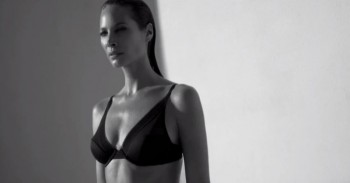 Watch Christy Turlington in Calvin Klein Underwear Film