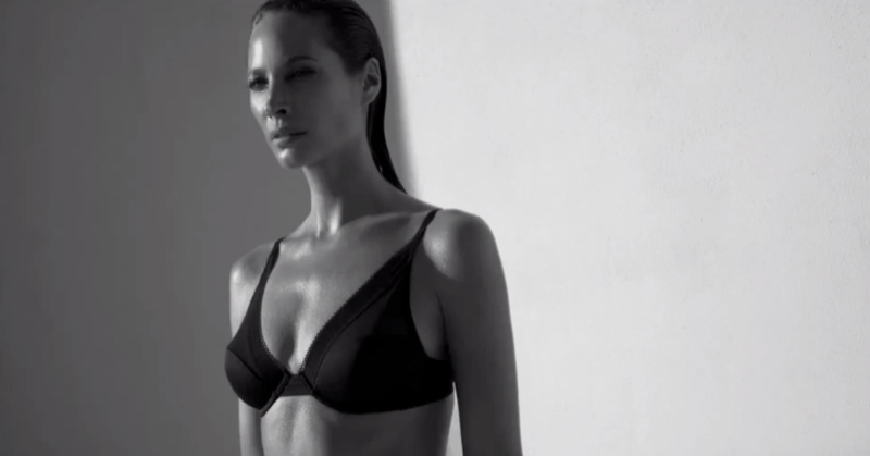 ck underwear tv Watch Christy Turlington in Calvin Klein Underwear Film