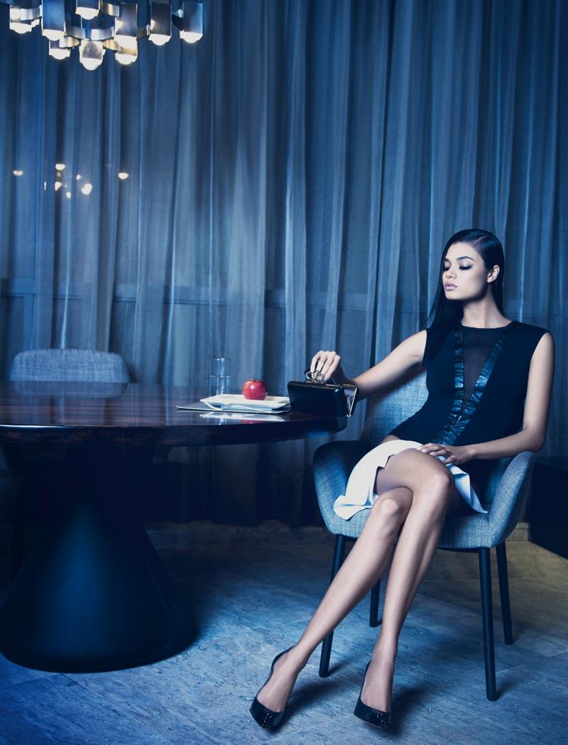 daniela braga3 Daniela Braga Models Dark Style for Harpers Bazaar Brazil by Yossi Michaeli
