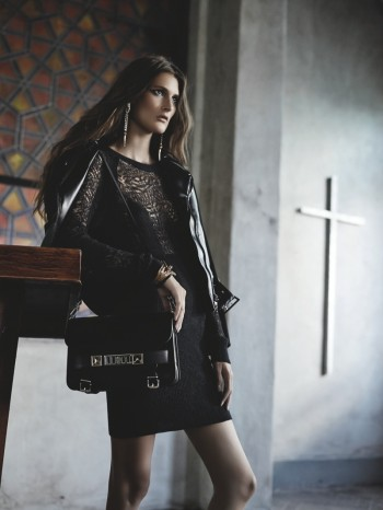 "Marie Piovesan Models ""Dark Romance"" for Forward by Elyse Walker Shoot"