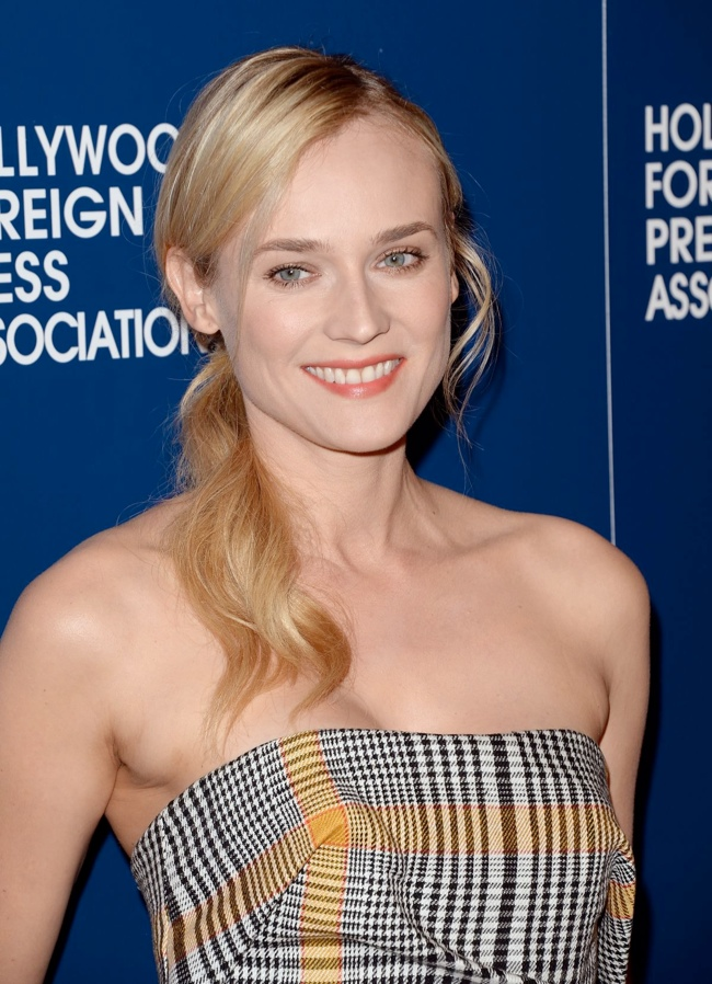 diane kruger carven3 Diane Kruger Wears Carven to the Hollywood Foreign Press Associations 2013 Installation Luncheon