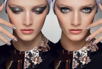 "Watch Daria Strokous Enchant in Dior's ""Mystic Metallics"" Collection"