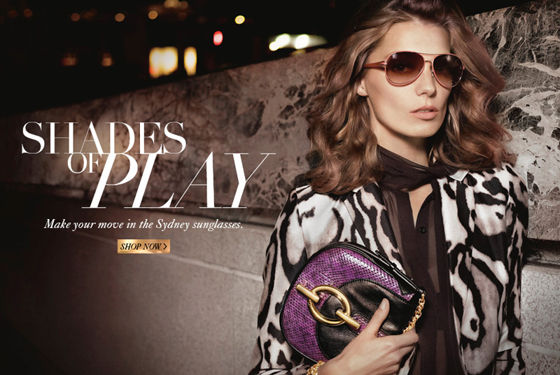dvf fall ads3 Diane von Furstenberg Taps Daria Werbowy for Fall 2013 Ads