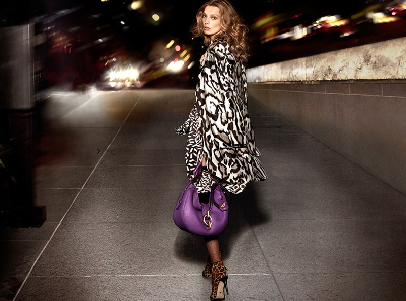 dvf fall ads5 Diane von Furstenberg Taps Daria Werbowy for Fall 2013 Ads