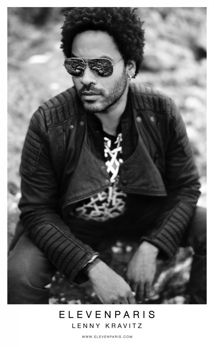 elevenparis fall2 741x1200 Sky Ferreira & Lenny Kravitz Star in ElevenParis Fall 2013 Ads