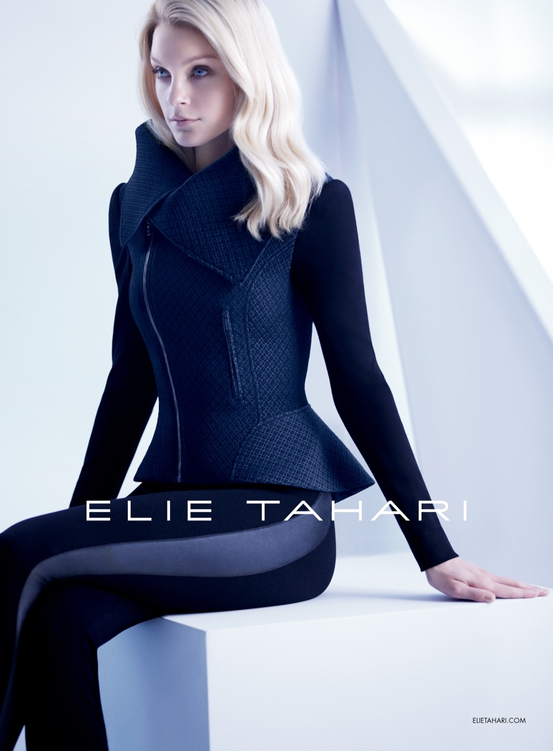 Jessica Stam Stars in Elie Tahari Fall 2013 Campaign by Diego Uchitel