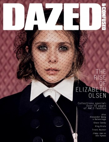 Elizabeth Olsen Lands Dazed & Confused's September 2013 Cover