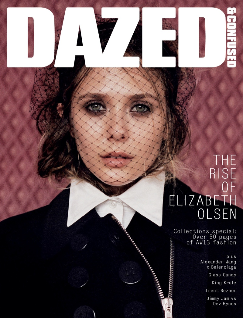 elizabeth olsen dazed cover Elizabeth Olsen Lands Dazed & Confuseds September 2013 Cover