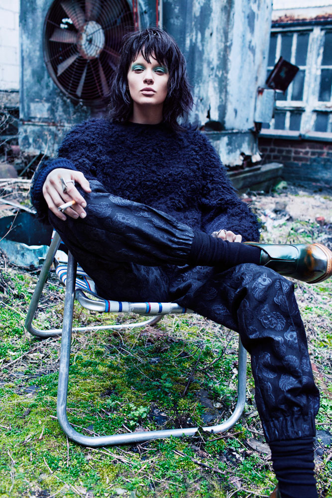 elle norway shoot8 Isabele Rocks Cutting Edge Style for Elle Norway by Jorgen Gomnes