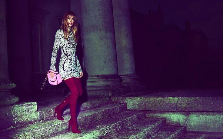 emilio pucci fw ads1 Doutzen Kroes Lands Emilio Pucci Fall 2013 Campaign by Mert & Marcus