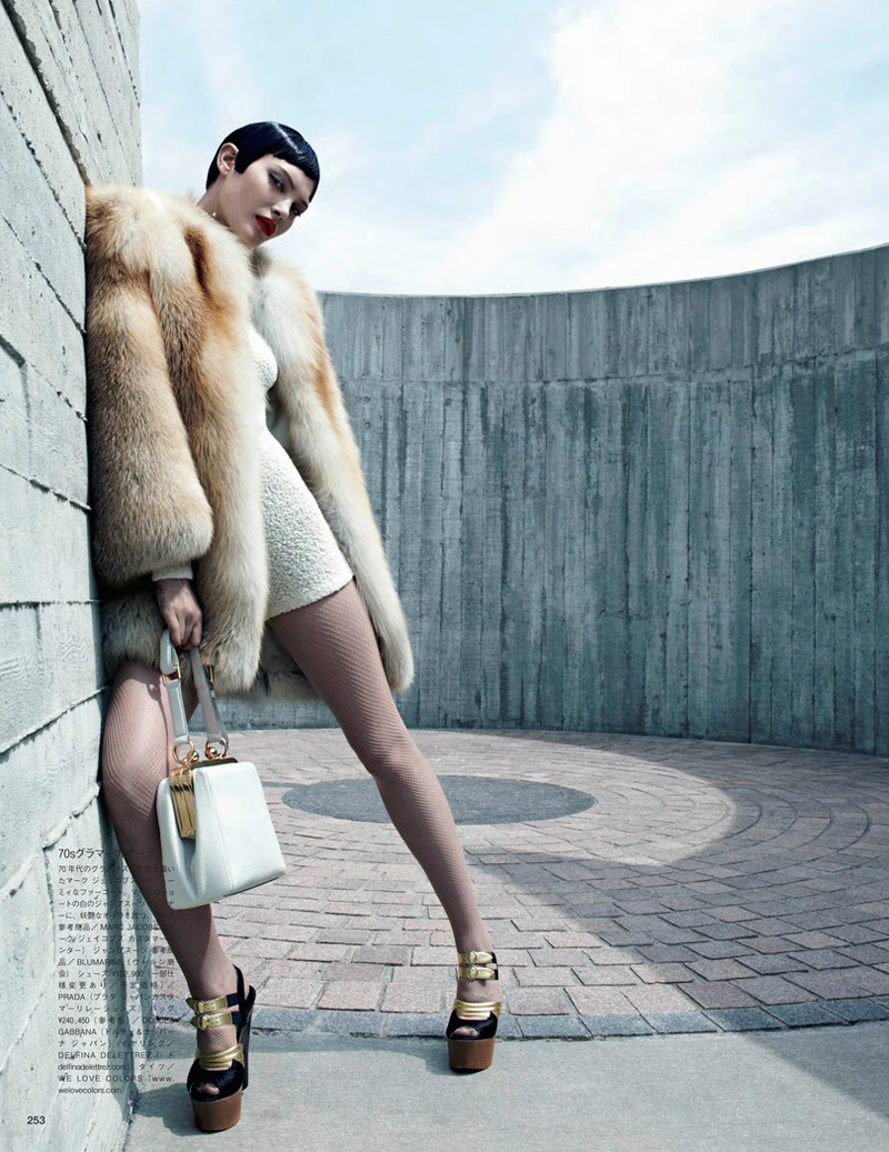 emma summerton2 Catherine McNeil Gets Luxe for Vogue Japan Shoot by Emma Summerton