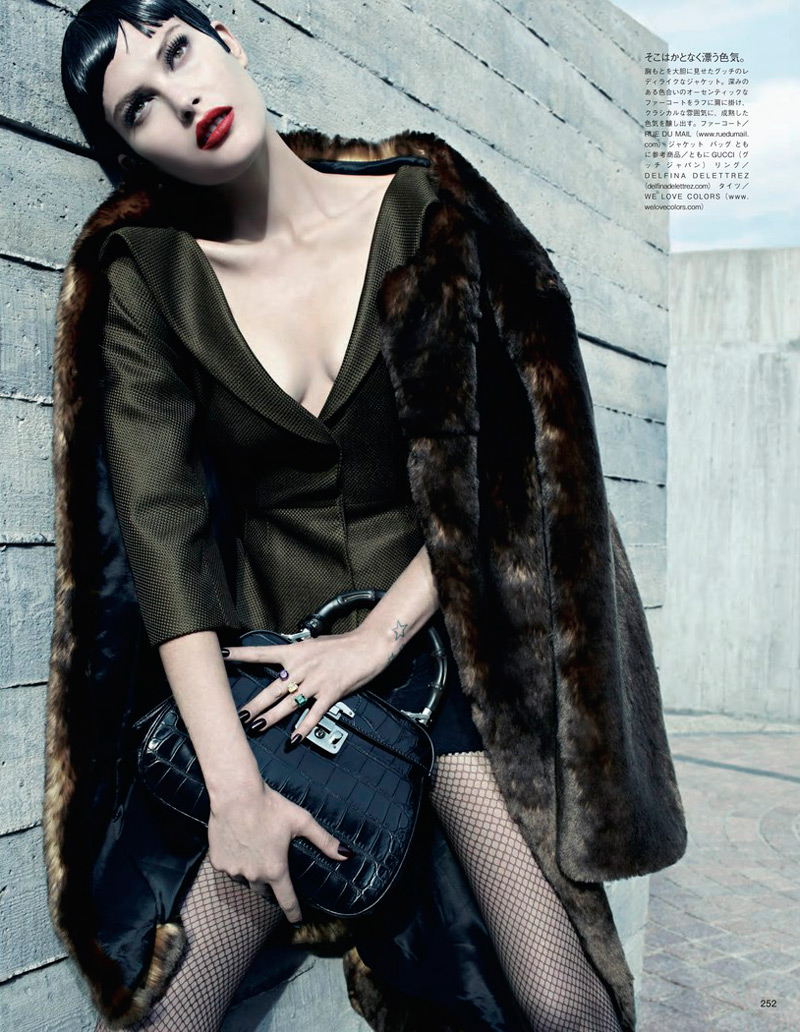 emma summerton3 Catherine McNeil Gets Luxe for Vogue Japan Shoot by Emma Summerton