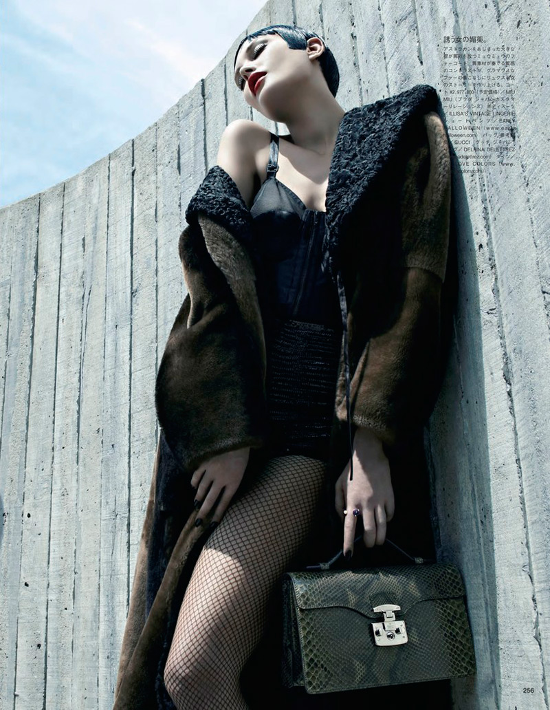 Catherine McNeil Gets Luxe for Vogue Japan Shoot by Emma Summerton