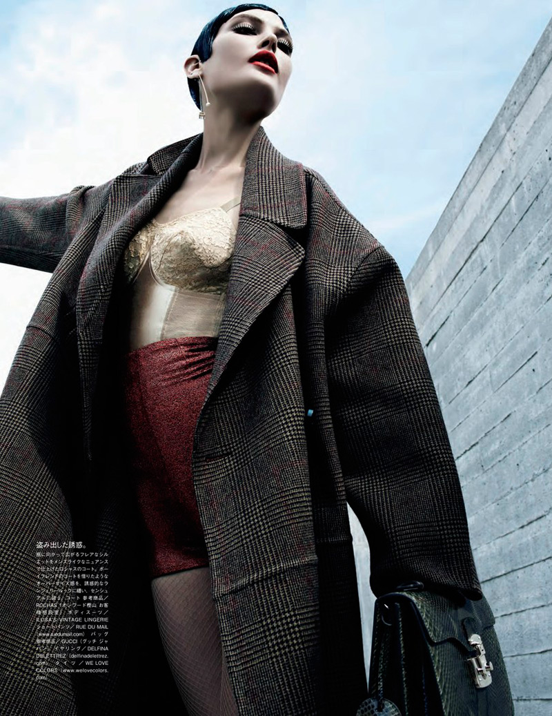 emma summerton6 Catherine McNeil Gets Luxe for Vogue Japan Shoot by Emma Summerton