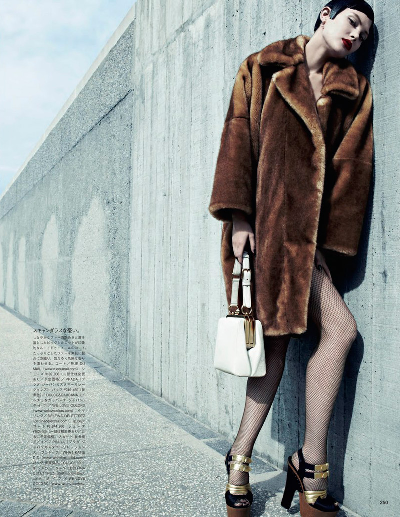 emma summerton7 Catherine McNeil Gets Luxe for Vogue Japan Shoot by Emma Summerton