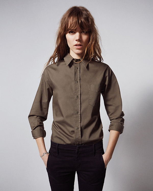 freja beha mother denim1 See Freja Beha Erichsens Capsule Collection for Mother Denim