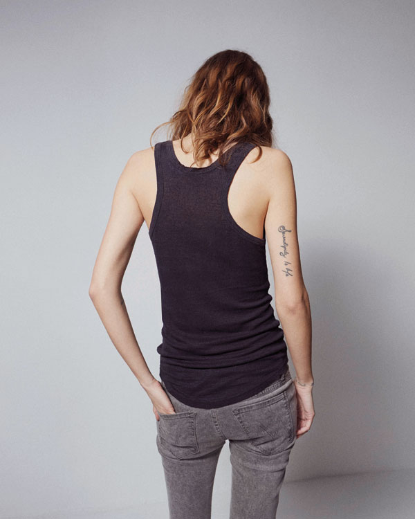 freja beha mother denim2 See Freja Beha Erichsens Capsule Collection for Mother Denim