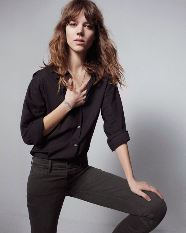 freja beha mother denim4 See Freja Beha Erichsens Capsule Collection for Mother Denim