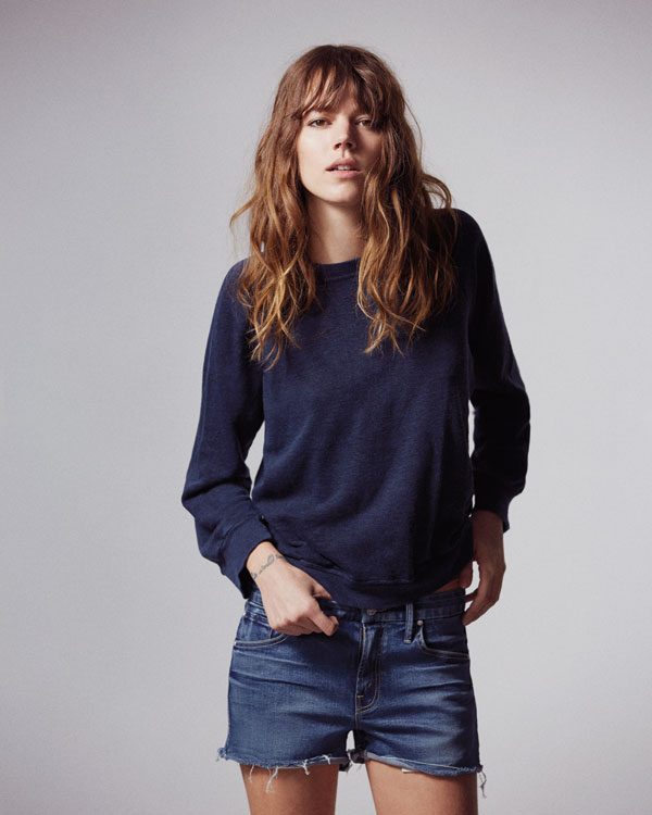 freja beha mother denim6 See Freja Beha Erichsens Capsule Collection for Mother Denim