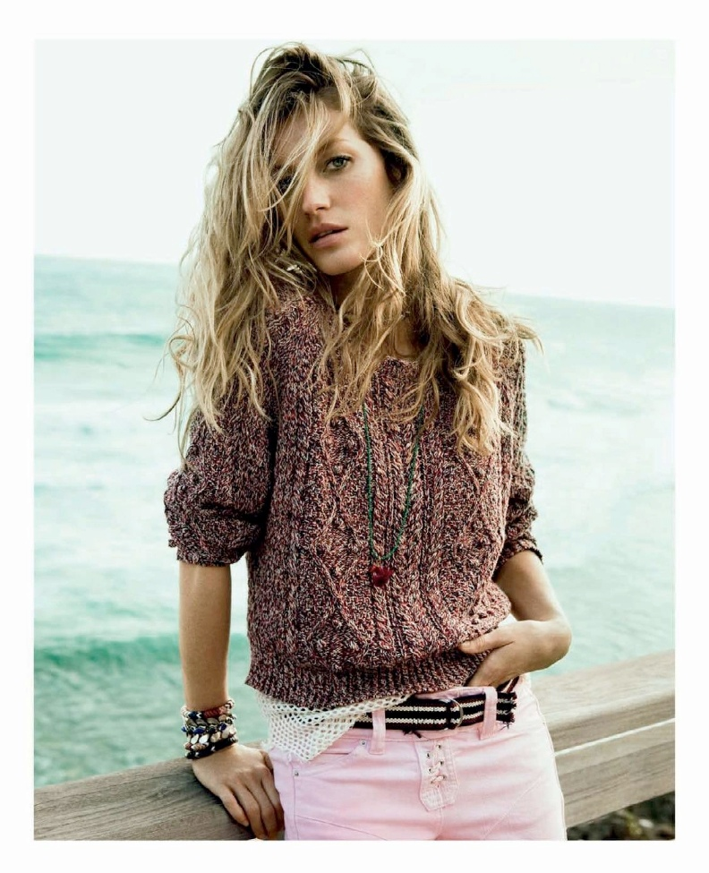 gisele bundchen isabel marant spring 2011 Gisele Bundchen, Kate Moss & Miranda Kerr Land on Forbes 2013 Highest Paid Models List