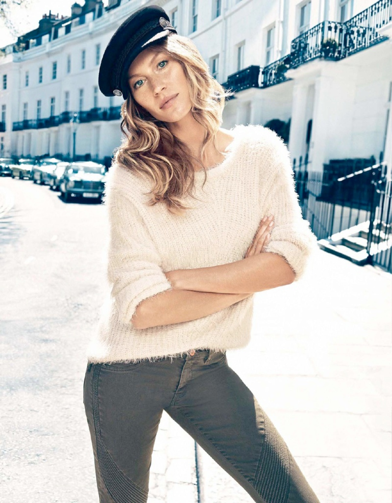 gisele hm fall campaign5 Gisele Bundchen is Back for H&Ms Fall 2013 Ads