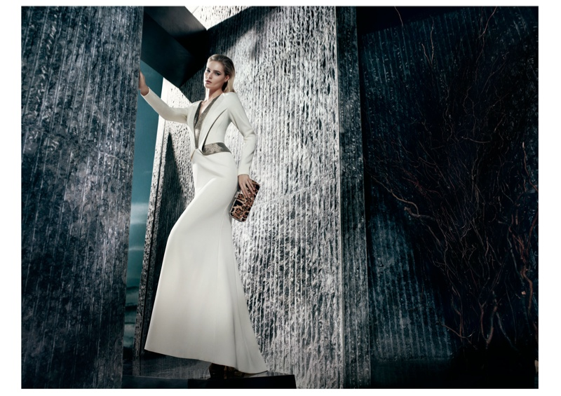 gizia fw camapign2 Juju Ivanyuk Models Sleek Style for Gizia Fall 2013 Ads by Nihat Odabasi