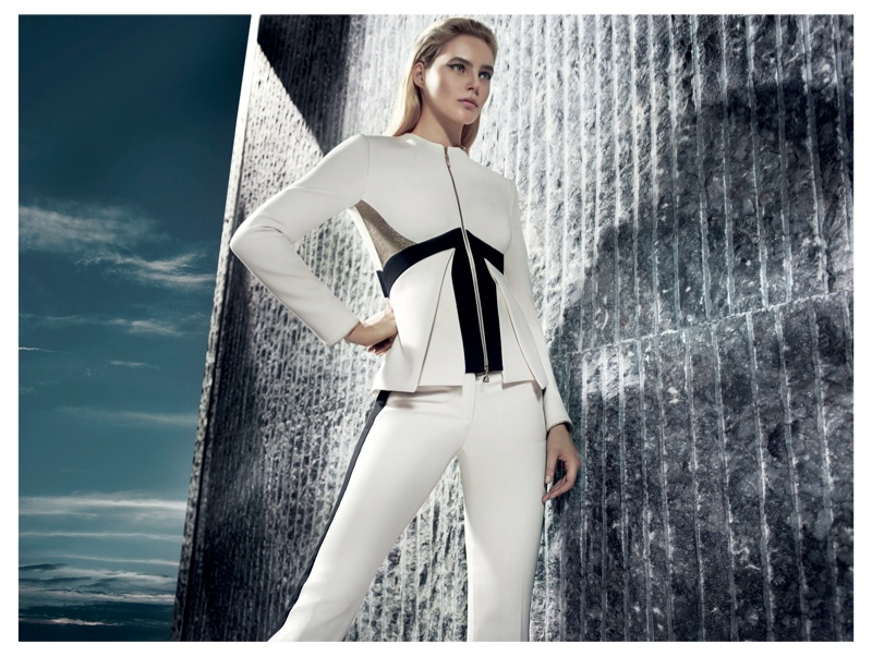 gizia fw camapign8 Juju Ivanyuk Models Sleek Style for Gizia Fall 2013 Ads by Nihat Odabasi