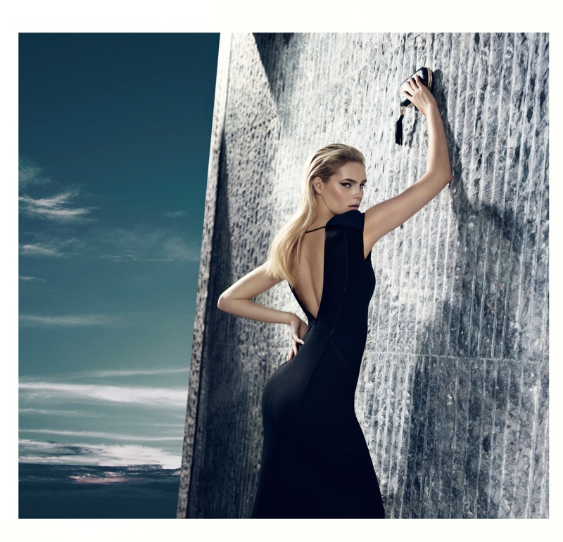 gizia fw camapign9 Juju Ivanyuk Models Sleek Style for Gizia Fall 2013 Ads by Nihat Odabasi