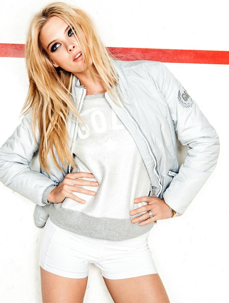 Romy de Vries Gets Sporty for Goldbergh Spring 2014 Ads