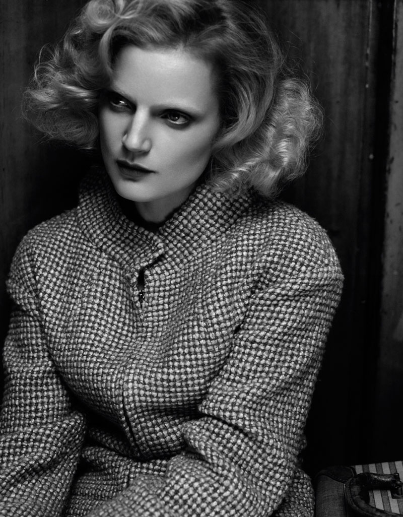 Guinevere van Seenus Enchants for Cuneyt Akerglou in Vogue Ukraine Shoot