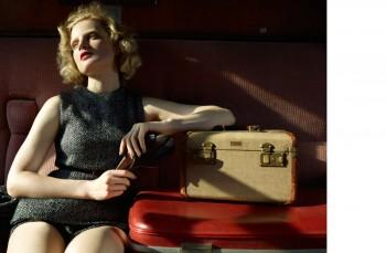 Guinevere van Seenus Enchants for Cuneyt Akerglou in Vogue Ukraine Shoot