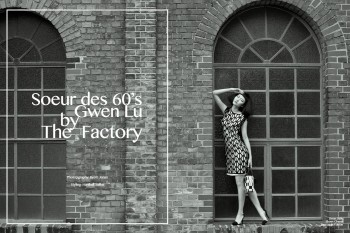 "Gwen Lu by Björn Jonas in ""Soeur des 60′s"" for Fashion Gone Rogue"
