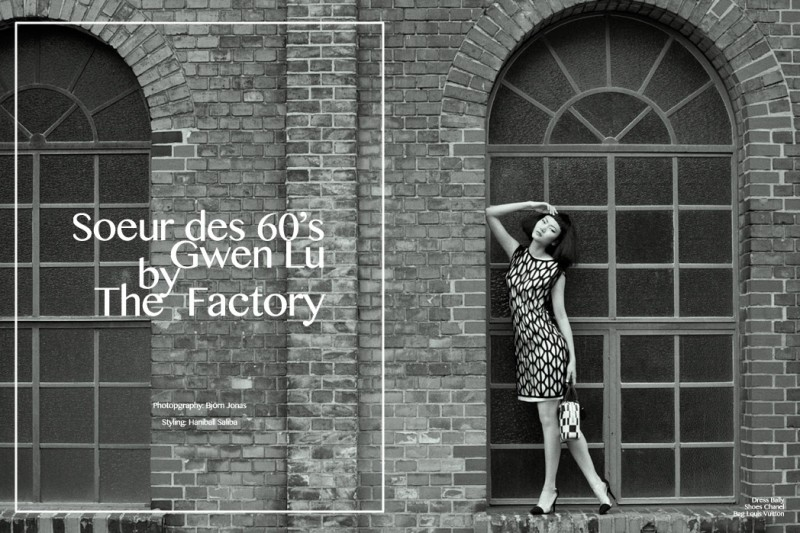 "Gwen Lu by Björn Jonas in ""Soeur des 60's"" for Fashion Gone Rogue"
