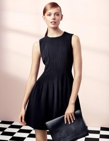 Frida Gustavsson Models 'Effortless Elegance' for H&M